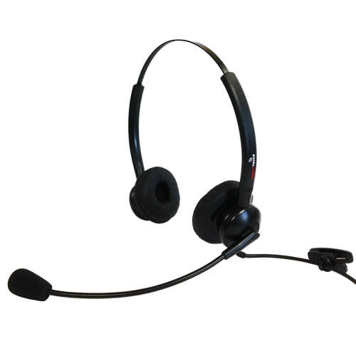 Supervoice SVC102 Call Center Headset DUAL Without Bottom Cable